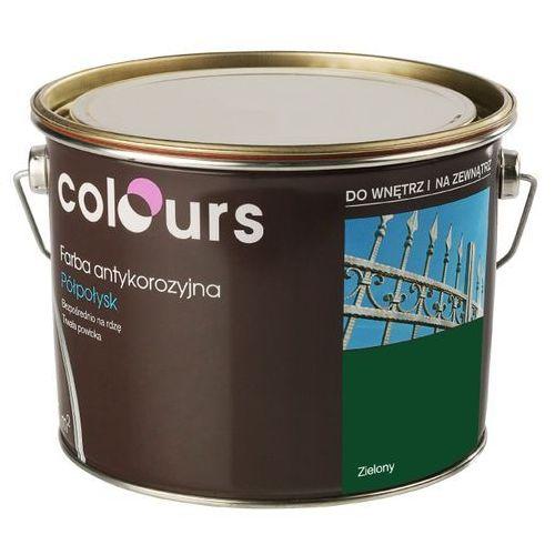 Farby, Farba antykorozyjna Colours zielona 2,5 l