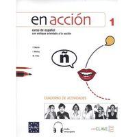 Książki do nauki języka, En accion 1 Cuaderno de actividades /CD gratis/ (opr. miękka)