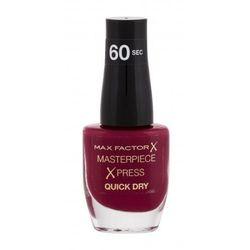 Max Factor Masterpiece Xpress Quick Dry lakier do paznokci 8 ml dla kobiet 340 Berry Cute