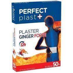 Plaster rozgrzewający ginger forte perfect plast x 50 sztuk