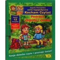 Książki dla dzieci, KOCHAM CZYTAĆ. PAKIET. PODRÓŻE JAGODY I JANKA (opr. kartonowa)