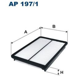 197/1 AP FILTR POWIETRZA HYUNDAI GRAND SANTA FE 15-, KIA SORENTO 12- FILTRON AP197/1