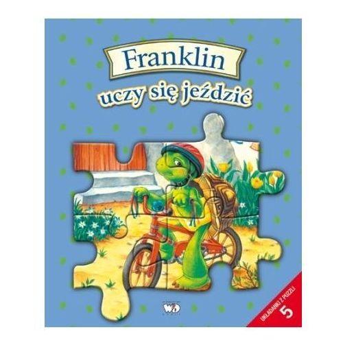 Książki dla dzieci, Franklin uczy się jeździć (opr. kartonowa)
