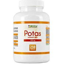 Potas (Cytrynian Potasu) (MyVita) 250 tabl.