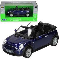 Osobowe dla dzieci, WELLY Mini Cooper S Cabr io, niebieskiMINI COOPER - Welly