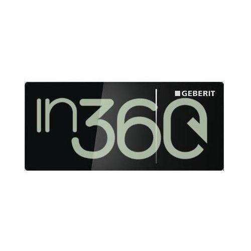 Geberit Sigma70 Przycisk uruchamiający, 8cm, zdalny, czarny 115.635.SJ.1