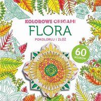 Kolorowanki, Flora, Kolorowanka z origami - Buchmann DARMOWA DOSTAWA KIOSK RUCHU