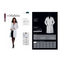 Madeira, sukienka, Gabardyna