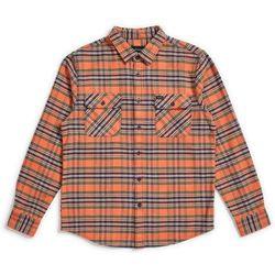 koszula BRIXTON - Bowery L/S Flannel Salmon/Navy (SANAV) rozmiar: XL
