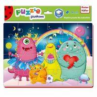 Puzzle, Miękkie puzzle A4 Śmieszne zdjęcia RK1201 03 - Roter Kafer