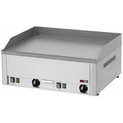 Płyta grillowa elektryczna gładka | 650x480mm | 6000W | 660x530x(H)220mm