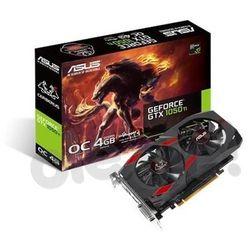ASUS Cerberus GeForce GTX 1050 Ti OC 4GB GDDR5 128 bit - produkt w magazynie - szybka wysyłka!
