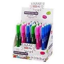 Długopis wymazywalny niebieski (24szt) EASY