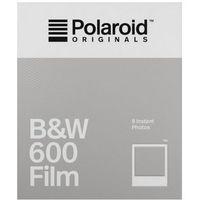 Pozostała fotografia, Polaroid Originals 600 B&W czarno-biały wkład do aparatu Polaroid z białymi ramkami