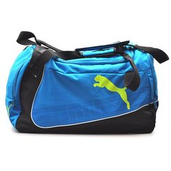 Torba Sportowa na ramię Puma Evo Power Large Bag Team Niebiesko-Czarna Treningowa