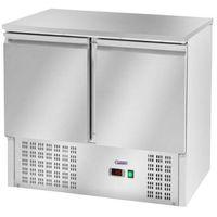 Stoły gastronomiczne, Stół chłodniczy 2-drzwiowy z agregatem dolnym RCKT-90/70