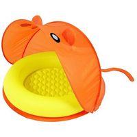 Baseny dla dzieci, Bestway Basen brodzik z daszkiem, pomarańczowy 51110 - BEZPŁATNY ODBIÓR: WROCŁAW!