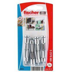 Kołki do g-k Fischer stalowe HM 6 x 59 mm 4 szt.