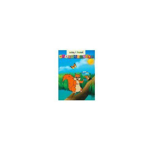 Książki dla dzieci, Wiewióreczka uczy i bawi (opr. broszurowa)