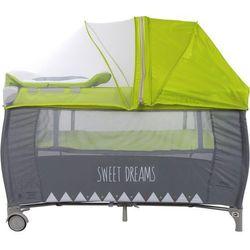 Łóżeczko turystyczne Sweet Dreams P995/7744C SUN BABY z pełnym wyposażeniem Błyskawiczna wsyłka, zadzwoń i zamów 58 322 03 25