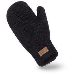 Rękawiczki damskie PaMaMi - Czarny - Czarny