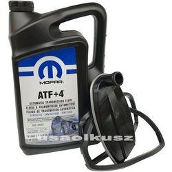 Olej MOPAR ATF+4 oraz filtr automatycznej skrzyni biegów NAG1 Jeep Cherokee 2008-