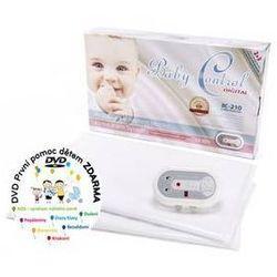 Monitor oddechu Baby Control BC-210, dwie jednostki sterujące Biała