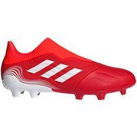 Piłka nożna, Buty piłkarskie adidas Copa Sense.3 LL FG czerwone FY6172