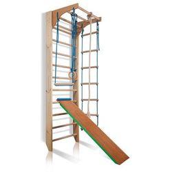 Zestaw Drabinka gimnastyczna dla dzieci Kombi 3 Insportline 220 cm