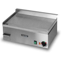 Płyta grillowa elektryczna, ryflowana, 3 kW, 544x390x200 mm | LOZAMET, LR.2.2