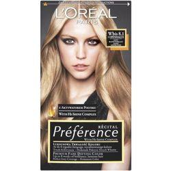 Recital preference farba do włosów 8,1 jasny blond popielaty - marki L'oreal paris