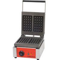 Gofrownice gastronomiczne, Gofrownica z powłoką polimerową, 1,9 kW, 275x420x275 mm | CATERINA, 772324