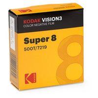 Klisze fotograficzne, KODAK Vision3 500T Super 8/15 m film negatyw kolor