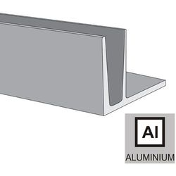 Profil aluminiowy do balustrady szklanej