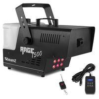 Wytwornice dymu, Beamz Rage 1500 LED, wytwornica mgły, 6 diod LED RGB o mocy 9 W, 350m3/min, zbiornik o pojemności 3,5 l, 1500 W