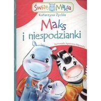Literatura młodzieżowa, Maks i niespodzianki (opr. miękka)