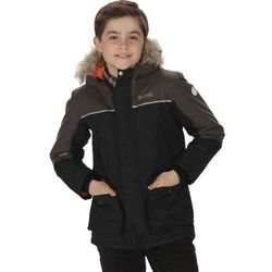 Regatta PAXTON Płaszcz zimowy black/dust Przy złożeniu zamówienia do godziny 16 ( od Pon. do Pt., wszystkie metody płatności z wyjątkiem przelewu bankowego), wysyłka odbędzie się tego samego dnia.