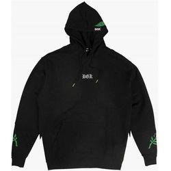 bluza DGK - Flawless Custom Hooded Fleece Black (BLACK) rozmiar: XL