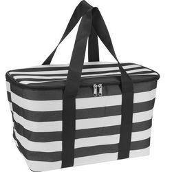 Termiczny, składany koszyk - torba na zakupy, piknik, 20 l