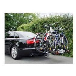 Składany bagażnik na rowery EUFAB PREMIUM III, uchwyt na hak + torba