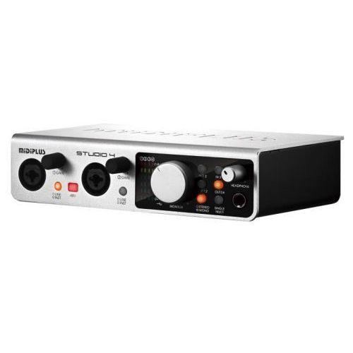 Pozostały sprzęt estradowy, Midiplus Studio 4 interfejs audio USB Płacąc przelewem przesyłka gratis!