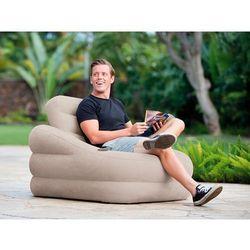 Fotel dmuchany ze zdejmowanym oparciem 97 x 107 x 71 cm INTEX 68587