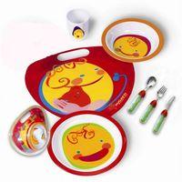 Sztućce dla dzieci, Bugatti Mondo 7 częściowy zestaw dla dziecka