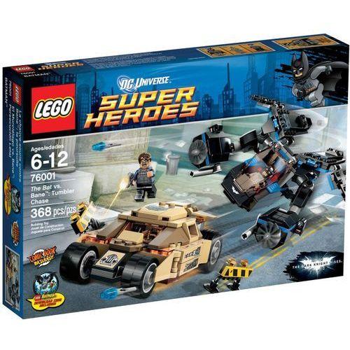 Klocki dla dzieci, Lego SUPER HEROES The bat vs bane 76001