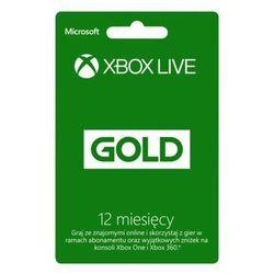 Abonament MICROSOFT Xbox Live Gold 12 miesięcy