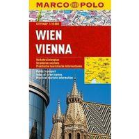 Mapy i atlasy turystyczne, Wiedeń / Vien 1:15 000. Laminowany plan miasta. Marco Polo (opr. miękka)