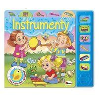 Książki dla dzieci, Instrumenty. ODKRYWAM DŹWIĘKI (opr. twarda)