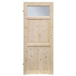 Drzwi z podcięciem Radex Lugano 80 lewe sosna surowa