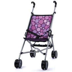 BAYER DESIGN Wózek spacerowy dla lalek kolor fioletowy 3019400
