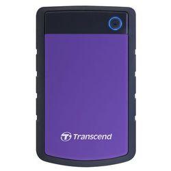 Transcend StoreJet H3P zewnętrzny dysk twardy, z absorpcją wstrząsów, 5400 obr./min, 8 MB, USB 3.0) 4 TB